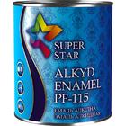 Эмаль алкидная ПФ-115 ТМ «Super Star» (0,9кг/№48-синяя)