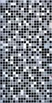 Панель пластиковая Мозаика чёрная