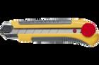 Макетный нож TOPEX с обрезиненной ручкой